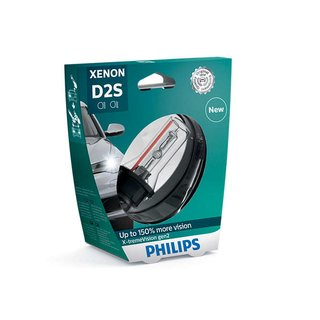 D2S 4800K Philips XtremeVision gen2