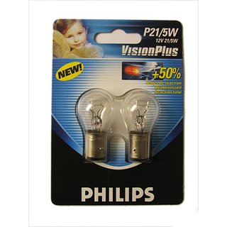 Philips Vision Plus P21/5W