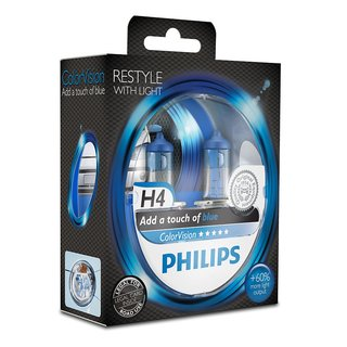 Philips ColorVision Blau H4