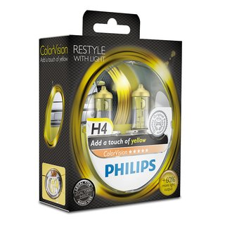 Philips ColorVision Gelb H4