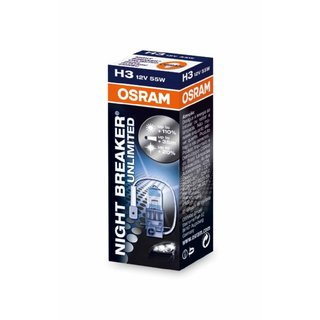 Osram Night Breaker Unlimited H3