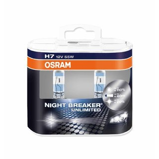 Osram Night Breaker Unlimited H7