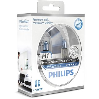 Philips White Vision H1 + W5W