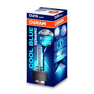 D2S 5000K Osram Cool Blue Intense 2er Set